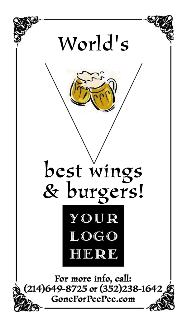 World's - best wings & burgers!